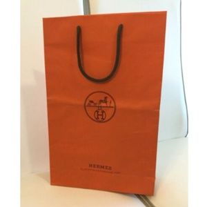 Authentic Hermes Reusable Paper Shopping Bag